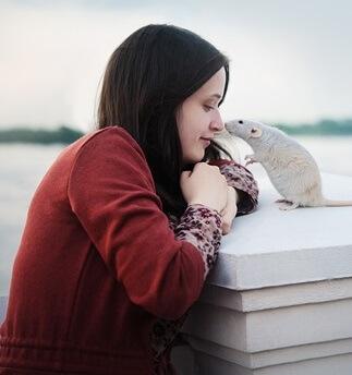 Conoce a la fotógrafa de animales Anna Tyurina