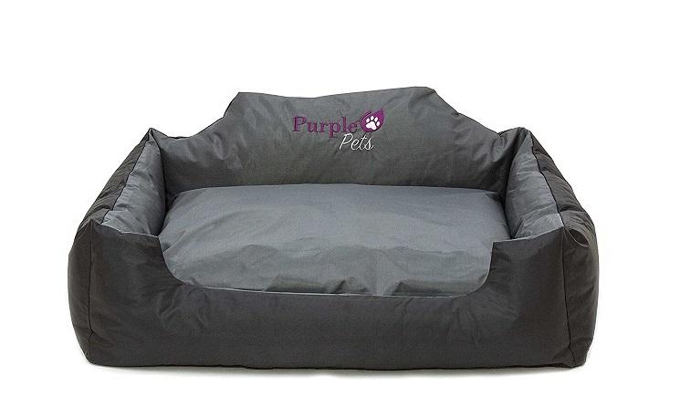 Purple-Pets Cama para Perro resistente al agua y de fácil limpieza