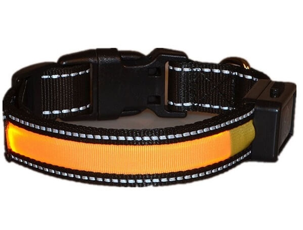 Collar luminoso solar lesypet
